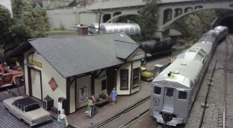 Model Railroad Display – Schuylkill Valley Model Railroad Club welcoming visitors since 1975
