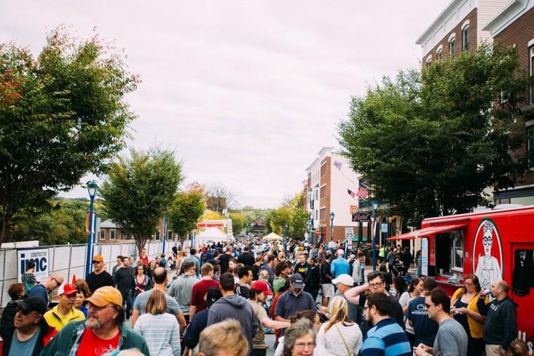 Phoenixville food truck festival 2016