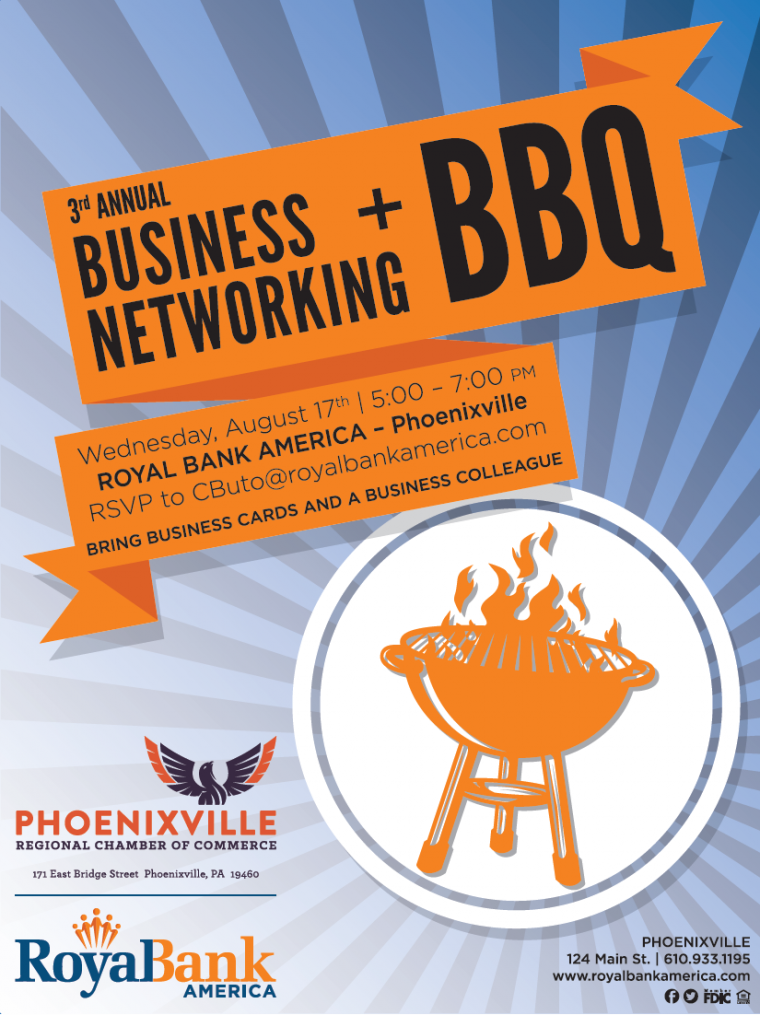 3rd annual business networking bbq with royal bank america
