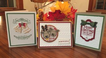 Christmas Card Making Class for Adults
