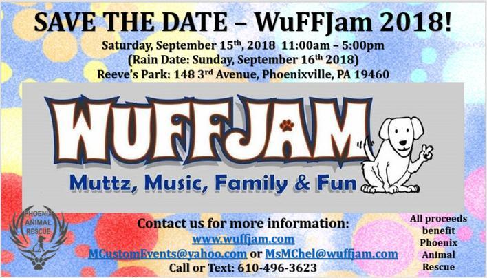 WuFFJam 2018, Mutz, Music, Family & Fun!