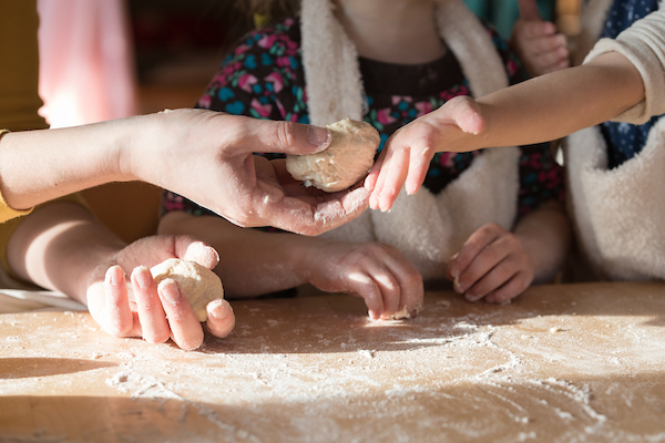 Bread Baking at Rose Kindergarten