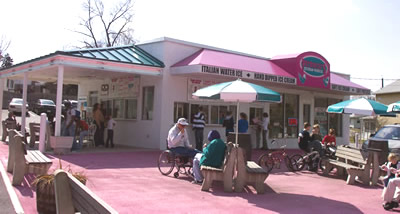 Petrucci's Ice Cream Opening Day