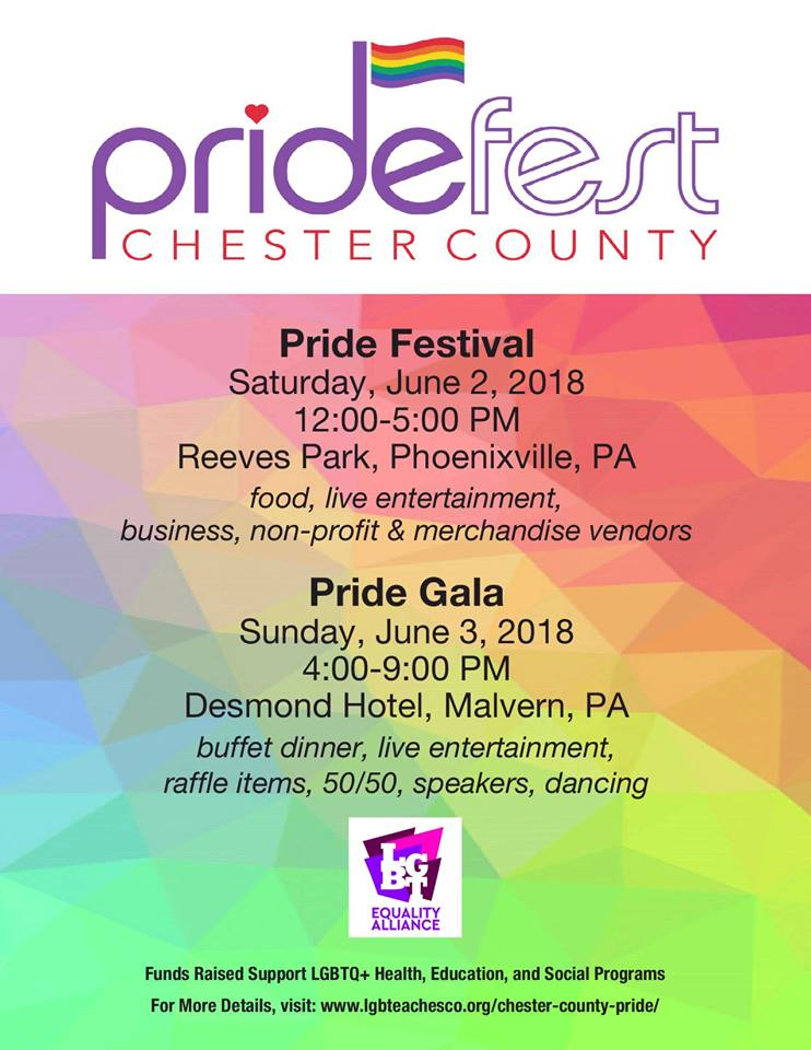 Chester County Pride Fest 2018