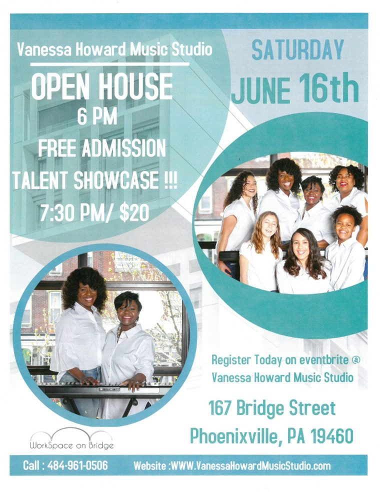 Vanessa Howard Music Studio Open House!