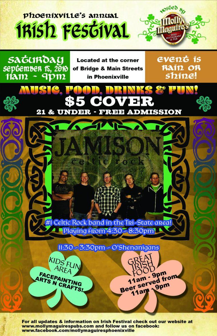 Phoenixville's Annual Irish Festival