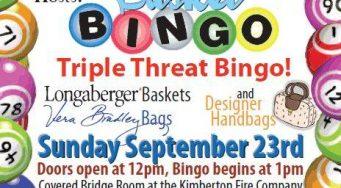 Club's Triple Threat Bingo