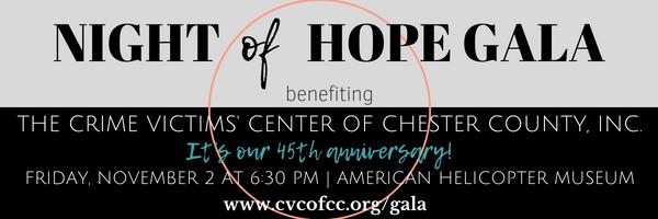 Annual Night of Hope Gala: CVC's 45th Anniversary