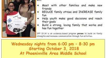 Strengthening Families Program: For Parents and Youth ages 10-14