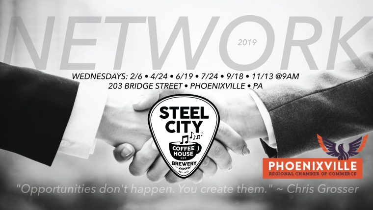 Networking at Steel City