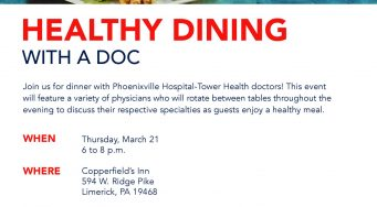Healthy Dining with a Doc