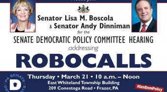 State Democratic Policy Committee Hearing addressing ROBOCALLS