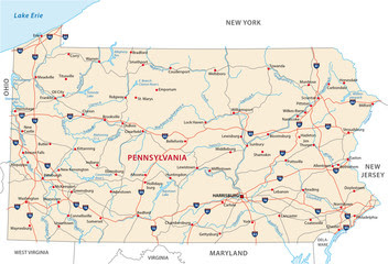 The Geography of Pennsylvania on geography of pennsylvania, geographical map washington pa, landforms of colonial pa, geography map of washington, physical geography of pa, geography map of canada, town maps of northeast pa, geography map usa,